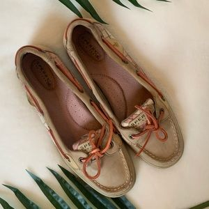 Sperry Angelfish Boat Shoes with Sequin Detail